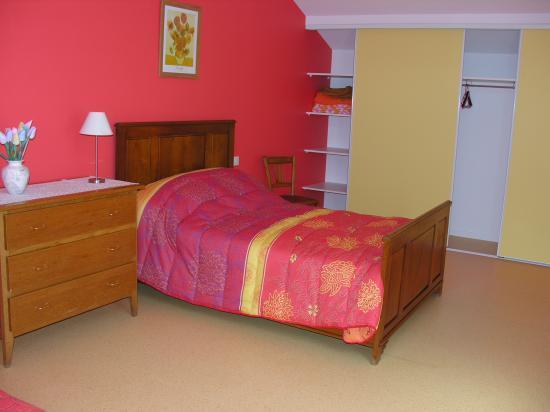 Chambre orange (étage)