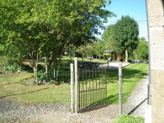 L'accès au jardin